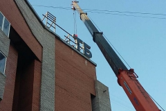 Монтаж конструкций банк ВТБ24 на Красной площади фото 5