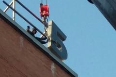 Монтаж конструкций банк ВТБ24 на Красной площади фото 6