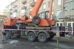 Монтаж конструкций банк ВТБ24 на Красной площади фото 2