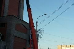 Монтаж конструкций банк ВТБ24 на Красной площади фото 3